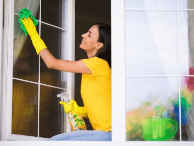 Labores de una empleada del hogar